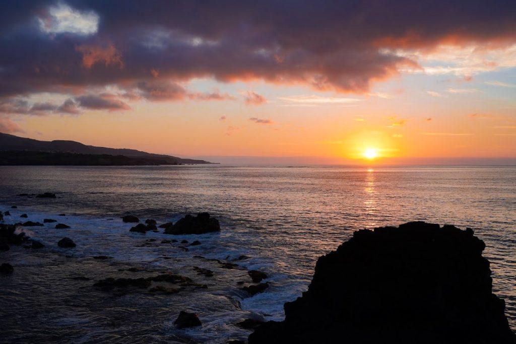 Zachód słońca Terceira